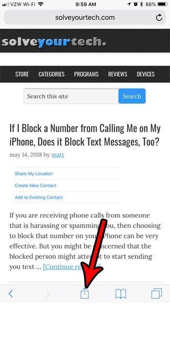 Могу ли я просмотреть компьютерную версию сайта вместо мобильной версии на iphone