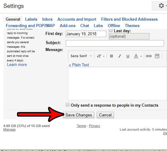 показывать больше писем одновременно в gmail