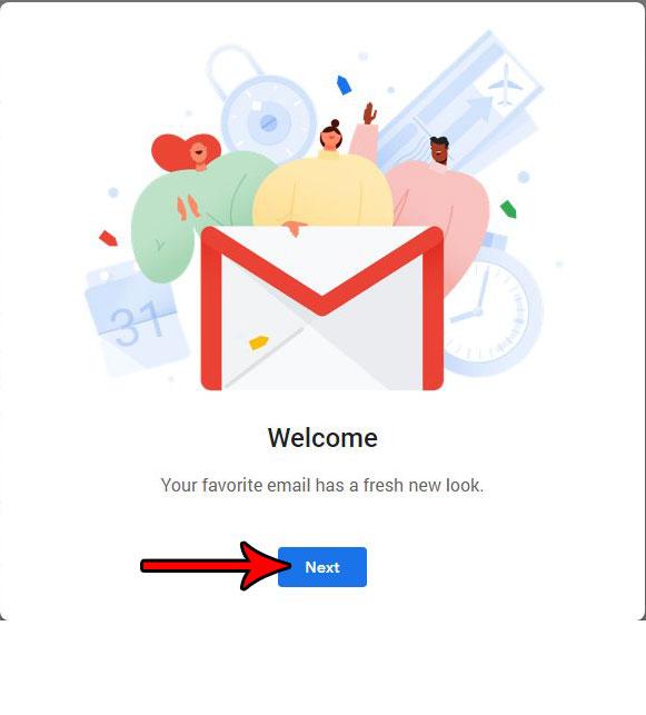 как перейти на новый gmail