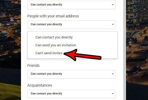 как не дать посторонним отправлять вам приглашения в видеовстречах Google