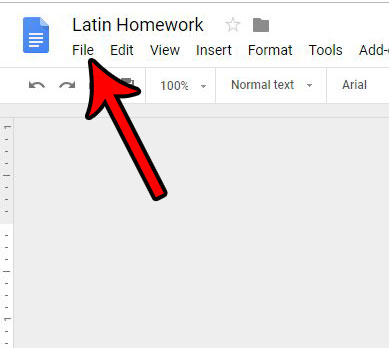 как изменить поля в Google Docs