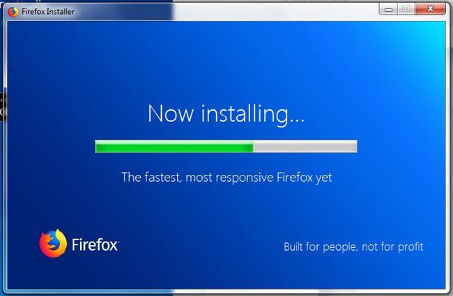 установка Firefox в Windows