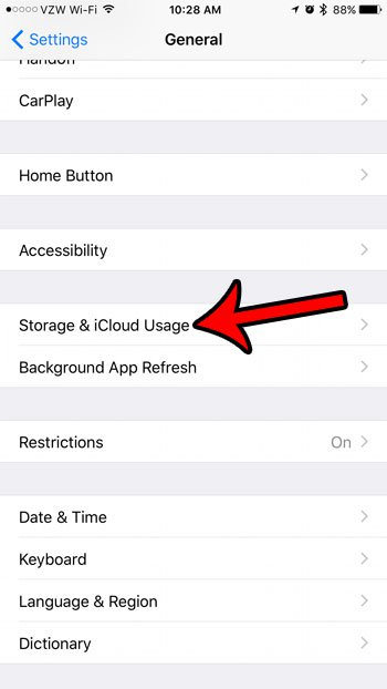 как проверить память на iphone 5