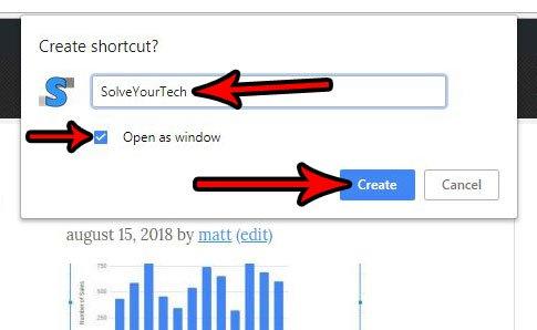 как создать ярлык на рабочем столе в Google Chrome