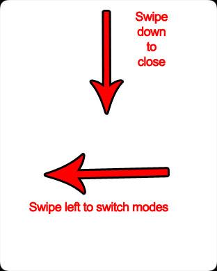 переключение режимов яблочный часы фонарик