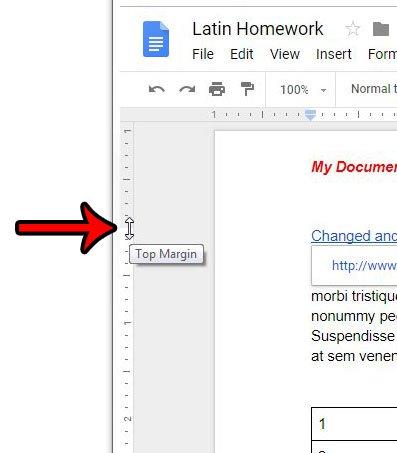 как сделать заголовок меньше в гугл документах