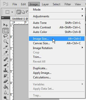 изменить размер изображения в фотошопе cs5