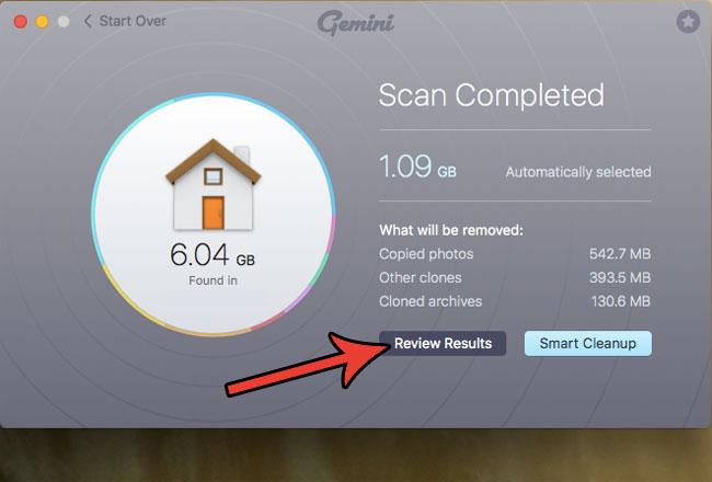как удалить дубликаты файлов из MacBook Air