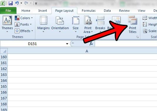 как сделать так, чтобы строки Excel повторялись сверху