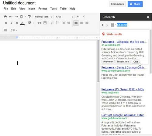специальные инструменты исследования документов Google