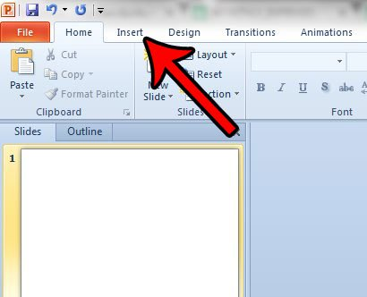 Как показать дату и время в нижней части каждого слайда в Powerpoint 2010
