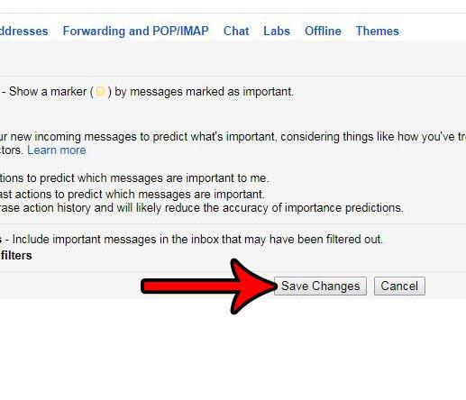показать непрочитанные вверху в gmail