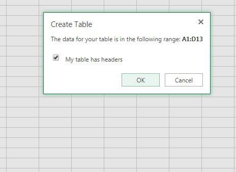 создать таблицу в Excel онлайн