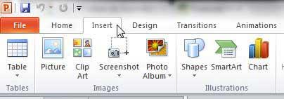 как получить номера слайдов в Powerpoint 2010