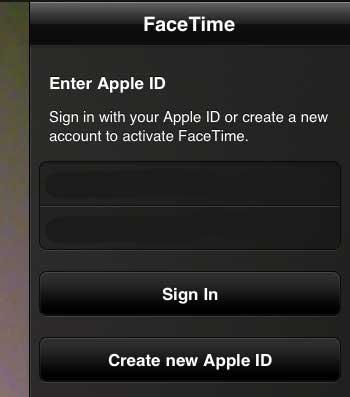 Введите свой Apple ID и пароль, затем нажмите кнопку «Войти»