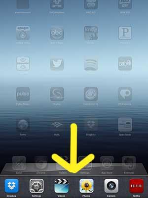 Как заблокировать iPad 2 в альбомной ориентации