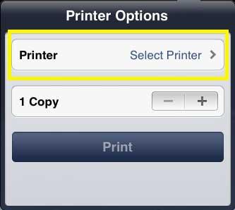 как печатать картинки на ipad 2