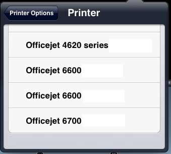 выберите свой принтер