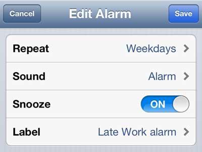 как редактировать звук будильника на iphone 5