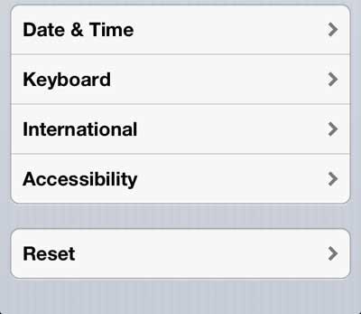 нажмите кнопку доступности