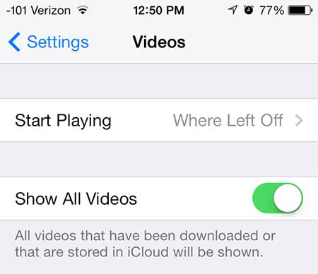 как посмотреть серию облачных сериалов в ios 7 на iphone 5