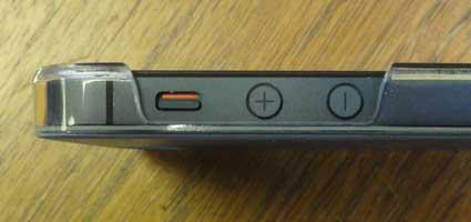 кнопка отключения звука iphone 5