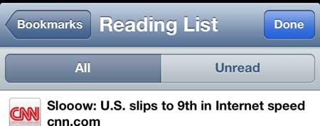 сортировать список чтения