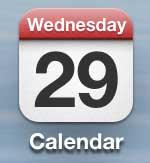 приложение для запуска календаря iphone 5