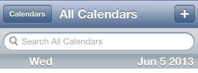 как искать в календаре на iphone 5
