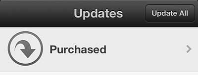 обновить несколько приложений iphone 5 одновременно
