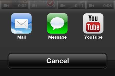 как загрузить на YouTube с iphone 5