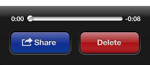 Нажмите кнопку Поделиться