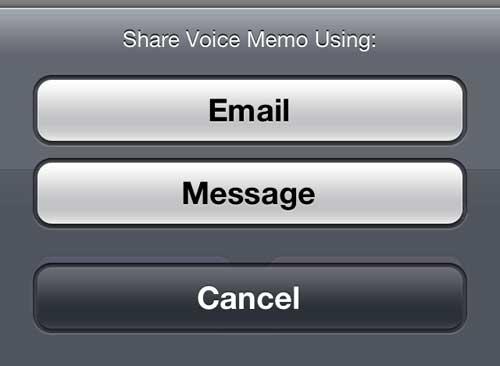 Выберите опцию электронной почты