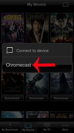 как смотреть вуду на chromecast с iphone