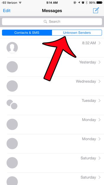 iphone-6-filter-unknown-senders-