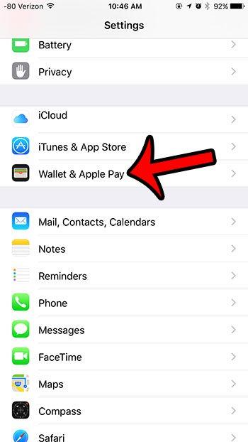 открыть кошелек и меню оплаты Apple