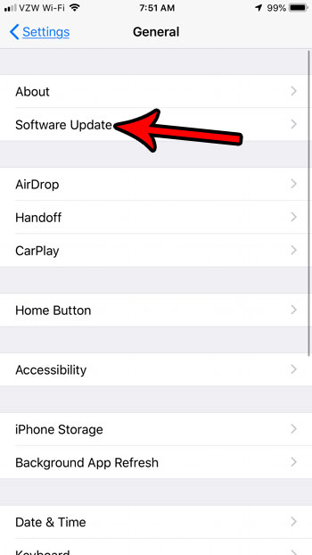 как обновить iphone автоматически