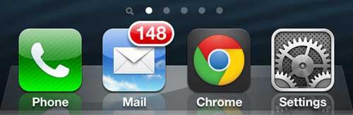 запустить приложение iphone Chrome