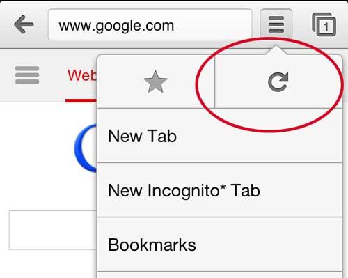как обновить приложение Chrome для iPhone