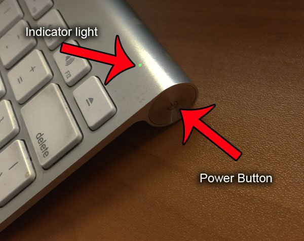 перевести яблочную клавиатуру в режим обнаружения