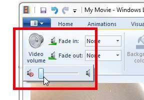 Как удалить аудио из видео iphone с Windows Live Movie Maker