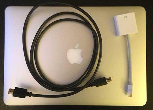Как подключить MacBook Air 2012 года к телевизору высокой четкости