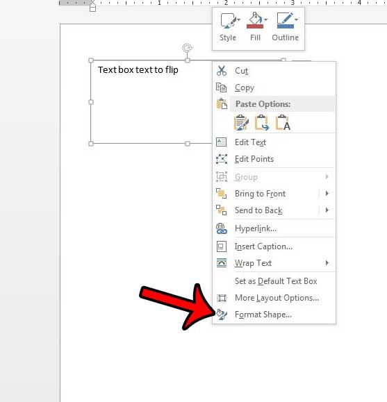 форматировать текстовое поле