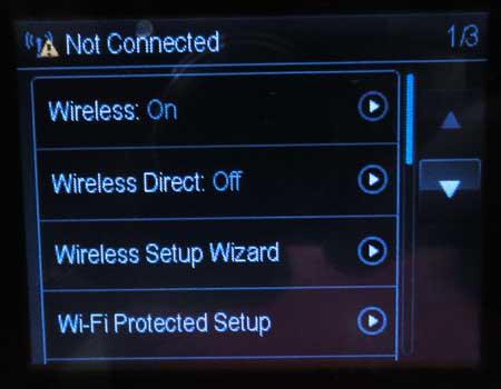 выберите опцию мастера настройки беспроводной сети