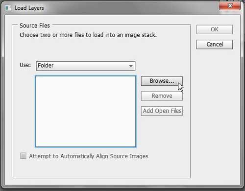 перейдите к файлам для загрузки в виде слоев