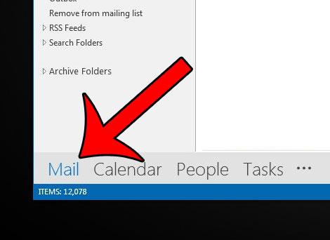 Как изменить количество строк предварительного просмотра в сообщениях Outlook 2013