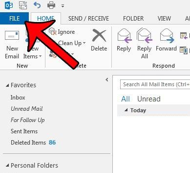 Как запретить предварительным просмотрам сообщений помечаться как прочитанные в Outlook 2013