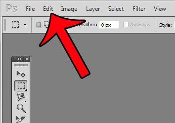 Как скрыть опцию «Обзор в мосте» в Photoshop CS5