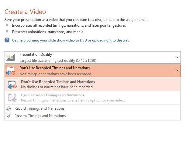 видео тайминги и повествования