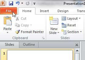 Как напечатать 6 слайдов на страницу в Powerpoint 2010